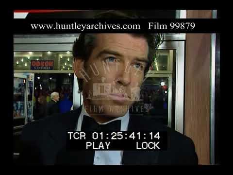 Pierce Brosnan Interview, 1990s - Film 99879