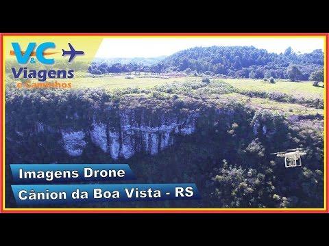 Cânion da Boa Vista filmado com Drone (Monte Alegre dos Campos)