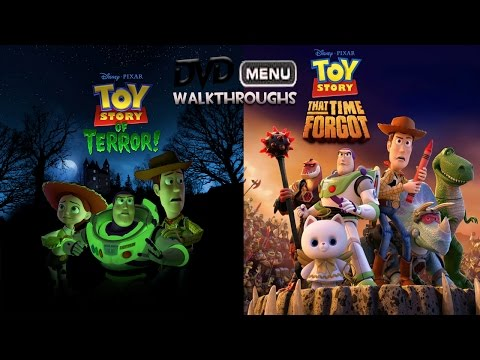 Toy Story Of Terror/That Time Forgot (2012, 2014) DvD Menu Walkthrough