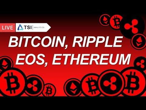 Bitcoin, Ripple, Ethereum, EOS. Вебинар | Прогноз цены на Биткоин, Рипл, Эфириум, Криптовалюты