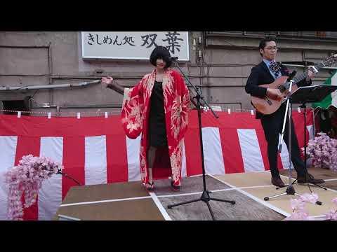 , title : '2019/4/21 ゴールデン街 さくら祭り のど自慢 マリアンヌ東雲'