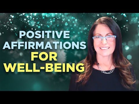 well being - Visit: http://www.hyptalk.com/ A short 3 minute video with basic positive affirmations for well being.