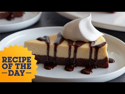 Recipe of the Day: Chocolate Brownie Bottom Cheesecake | Food Network
