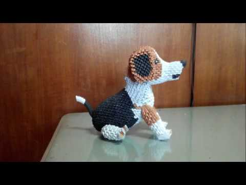 How To Make Origami 3d Puppy Part 1