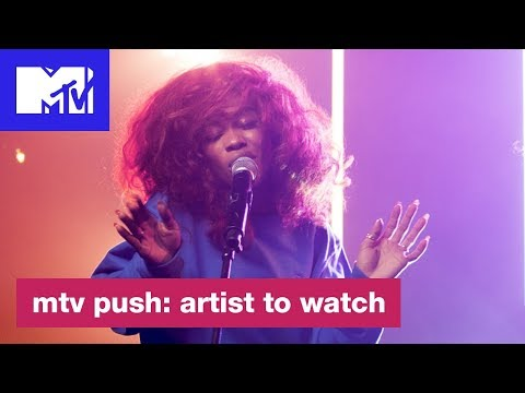 SZA Performs An Acoustic Version of 'Supermodel' | Push: Artist to Watch | MTV