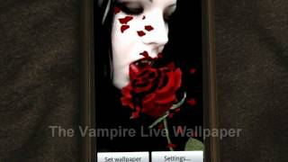 Vampire Live Wallpaper YouTube video