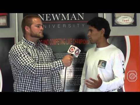 Carson-Newman Tennis: Juan Sebastian Perez All-SAC Interview 4-20-16