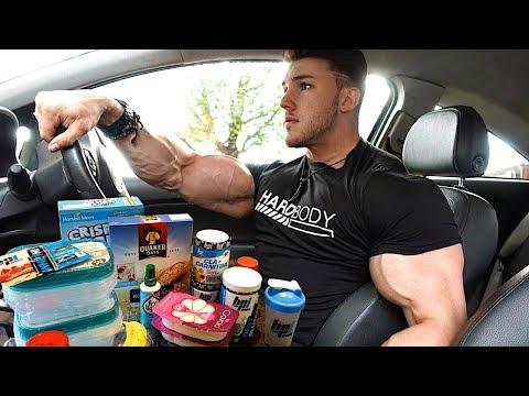 The Brandon Harding Bulking Diet FULL DAY OF EATING (Building Lean Muscle)
