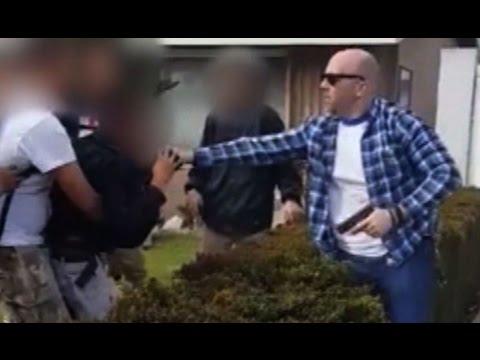 Off-Duty Cop Fires Gun At Teen (VIDEO)