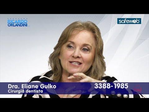 Ricardo Orlandini entrevista a cirurgiã dentista Eliane Gulko, da Gulko - Consultório de Odontologia Estética.