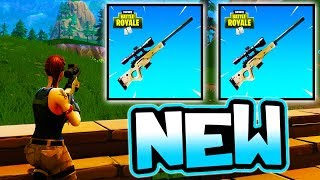 "NEW ""SNIPERS ONLY"" GAMEMODE!! ( Fortnite Battle Royale Gameplay )"