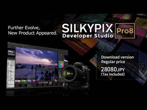 """""""SILKYPIX Developer Studio Pro8"""" promotion movie"""