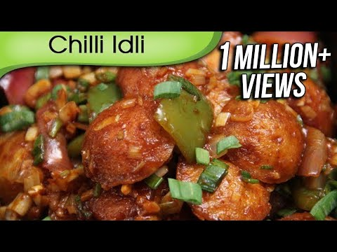 Chilli Idli | How to Make Simple Homemade Indo Chinese Food | Recipe By Ruchi Bharani