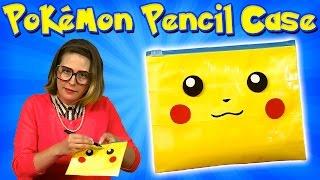 Pokemon DIY Pencil Case -