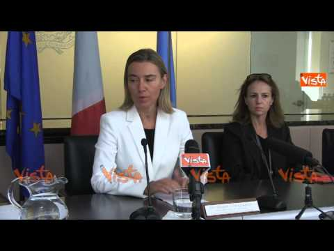 Mogherini Italia promotore per moratoria Onu contro pena di morte e impegnata contro i matrimoni forzati