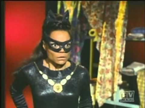 Eartha Kitt as The Catwoman on Batman&#8217;s TV Series