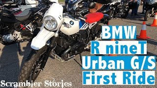 8. BMW R nineT Urban G/S | First Ride Thoughts