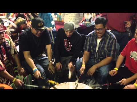 Standing Horse @ Kyi-Yo powwow 2014