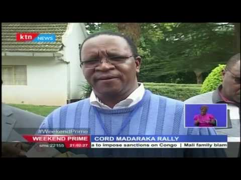CORD speak out of their planned Madaraka day rally