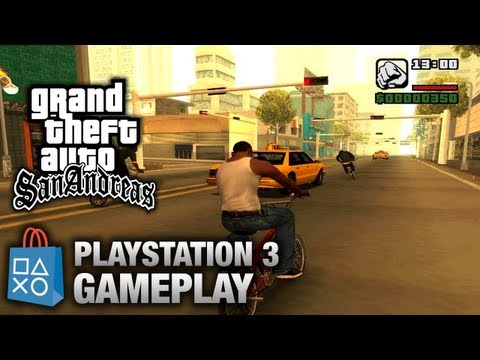 grand theft auto san andreas playstation 3