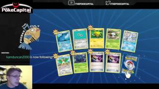 216 Pack CASE Opening of Pokemon Steam Siege on PTCGO by ThePokeCapital