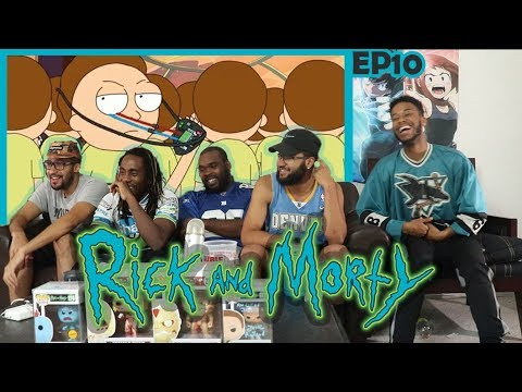 "Rick and Morty Season 1 Episode 10 ""Close Rick-Counters of the Rick Kind"" REACTION/REVIEW"