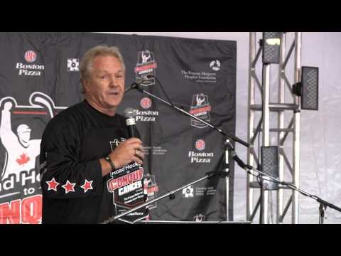 Road Hockey to Conquer Cancer - Darryl Sittler - 2012