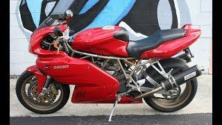 8. 1999 Ducati 900SS ...Sounds great w Giannelli exhaust!
