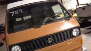 Vw bus Selling My 1983 air-cool Vanagon Westfalia. Take a tour of my Vw van.  It has a pop up that sleeps two and the back bench seat sleeps two. It's a automatic transmission. With a Full kitchen. Two eating table, two stove burner and a water running sink. Also as a closet and lots of storage and a radio cd player... Am going full-time Rving and need a vehicle that has black-gray water tank and a shower. In order to fine a remote places to work. Vw Bus westy van