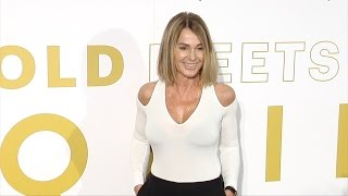 Subscribe! http://bit.ly/mrSda2 BROLL: Nadia Comaneci arrives at the annual 'Gold Meets Golden' event held at Equinox Sports...