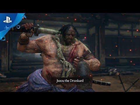 Sekiro: Shadows Die Twice - Juzou the Drunkard | PS4 - Thời lượng: 20 giây.