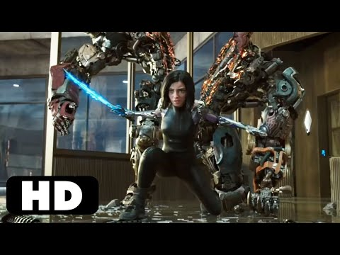 Alita Kills Grewishka | Alita: Battle Angel (2019) Movie Clip HD