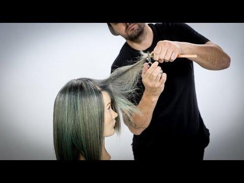 Hair cutting - How To Cut a PERFECT Face Frame Haircut Dry - Dry Haircut Tutorial