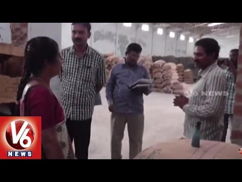 Fake seeds | Vigilance officials inspection on fake seed production companies - Mahabubnagar