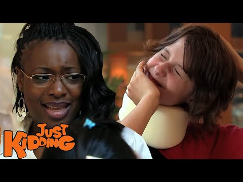 Neck Cracking Prank &#8211; Just Kidding