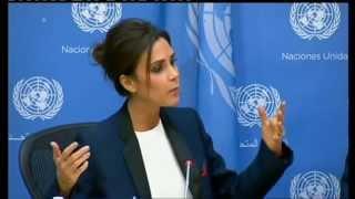 Victoria Beckham - UN goodwill ambassador