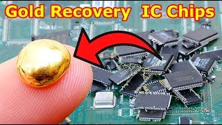 Video How Gold Recovery From IC Chips Remove from the electronic circuit board. MP3, 3GP, MP4, WEBM, AVI, FLV September 2019
