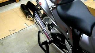 9. 2009 Suzuki Hayabusa After Market Exhaust