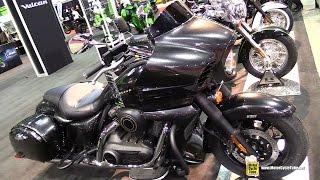 10. 2015 Kawasaki Vulcan 1700 Voyager ABS - Walkaround - 2015 Salon Moto de Quebec