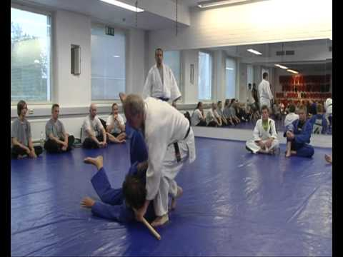 Takado Eurooppalainen Jujutsu näytös 2010