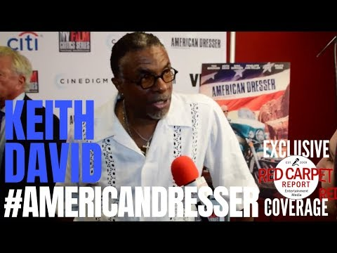 Keith David interviewed at the premiere for American Dresser In theaters Friday, 9/21