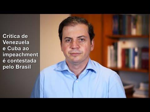 Rodrigo de Castro: Brasil termina aliança de Dilma com bolivarianos