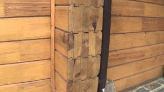 Ошибки при строительстве домов из профилированного бруса