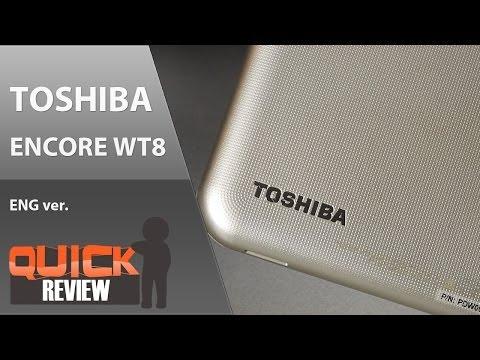 [EN] Toshiba Encore WT8 Quick Review