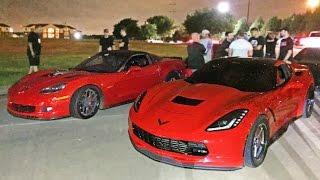 Nonton 60-190MPH Corvette Street Race - C6 Z06 vs C7 Stingray Film Subtitle Indonesia Streaming Movie Download