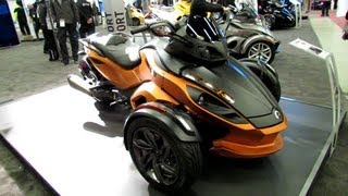 8. 2013 Can-am Spyder RS-S - Walkaround - 2013 Montreal Motorcycle Show