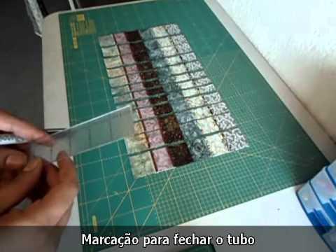 Como Fazer a Técnica  Bargello
