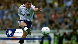 Gazza's unstoppable FA Cup free-kick against Arsenal | From The Archive