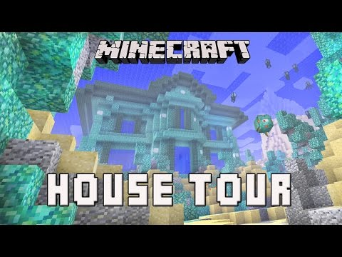 minecraft house tour - Well hello there, GoodTimesWithScar here bringing you a new how to make a house series of video tutorials. I will show you how to build a Minecraft house underwater with rooms. The design of...