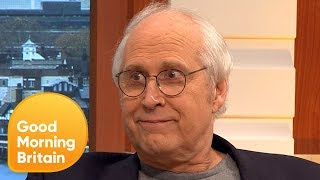 Video Chevy Chase Calls Donald Trump 'Stupid' | Good Morning Britain MP3, 3GP, MP4, WEBM, AVI, FLV April 2018